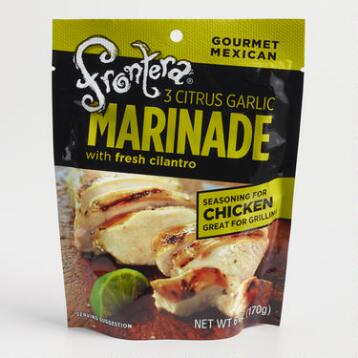 Frontera Three Citrus Marinade, Set of 6